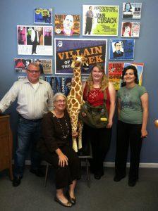 Rhodes, Pam, Sharon, Marietta