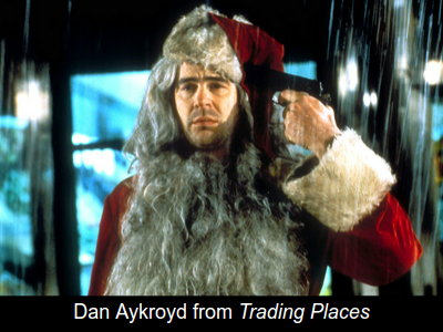 dan aykroyd in trading places